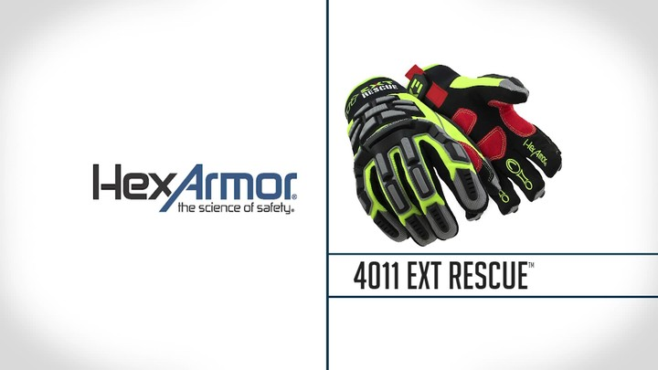 Impact Resistant Extrication Gloves   EXT Rescue® 4011