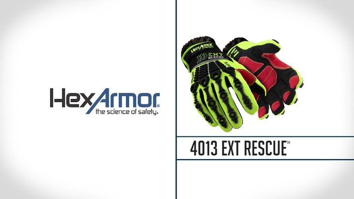 Debris Cuff Extrication Gloves | EXT Rescue® 4013