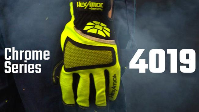 Touchscreen Work Gloves   Chrome Series® 4019