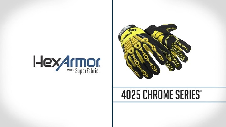 Cut 5 Mechanic Work Gloves | Chrome Series® 4025
