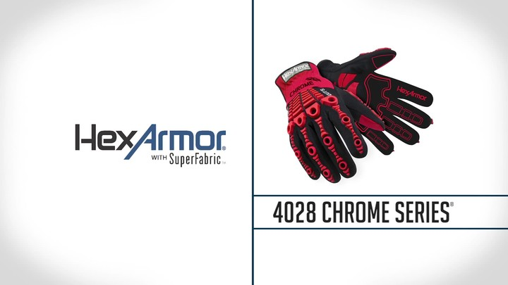 Slipfit® Mechanics Gloves | Chrome Series® 4028