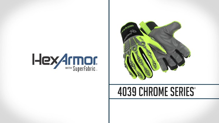 Mechanics Gloves | Chrome Series® 4039