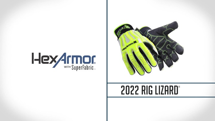 Warm Weather Impact Gloves | Rig Lizard® 2022