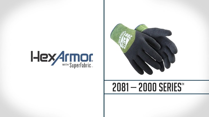 Kevlar® Latex Palm Coated Gloves | 2000 Series™ 2081