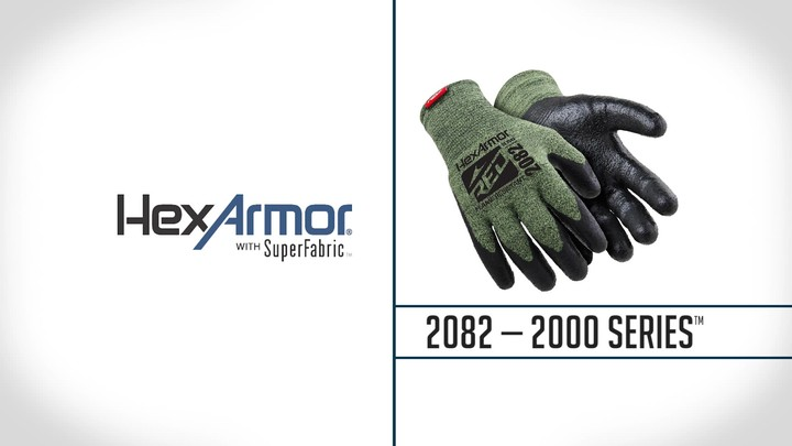 Flame Resistant Palm Coated Gloves | 2000 Series™ 2082