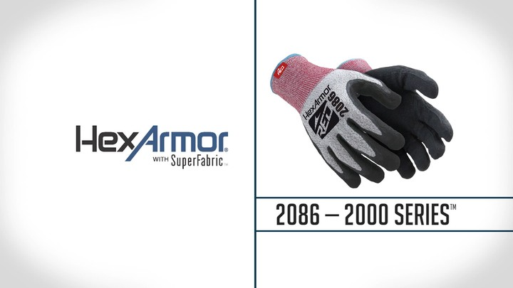 Latex Palm Coated Gloves | 2000 Series™ 2086