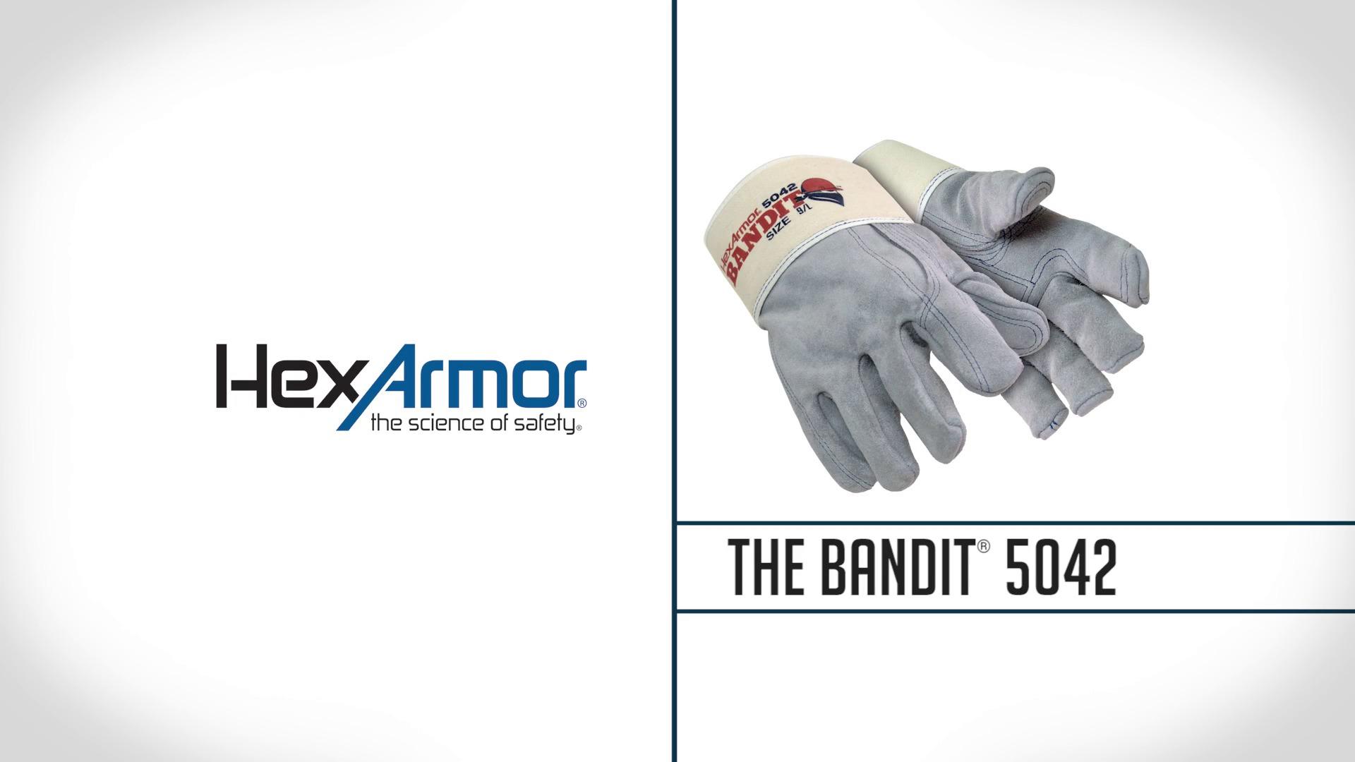 Heavy Duty Leather Work Gloves | Bandit® 5042