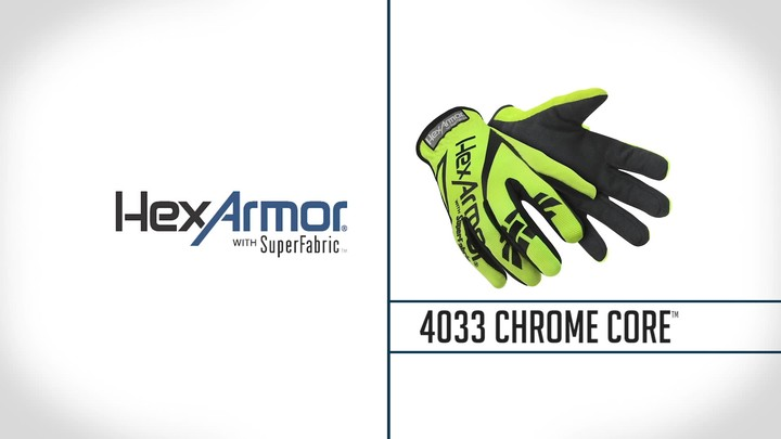 Level 5 Cut Resistant Gloves | Chrome Core™ 4033