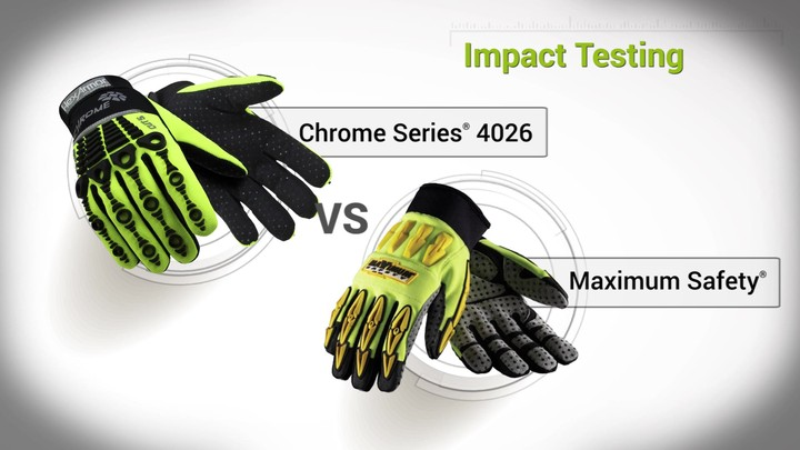 Impact Testing | Chrome Series® 4026 vs. Maximum Safety®