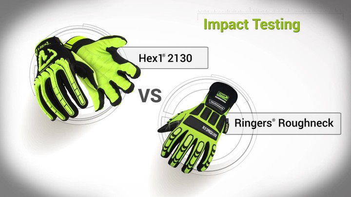 Impact Testing | Hex1® 2130 vs. Ringers® Roughneck