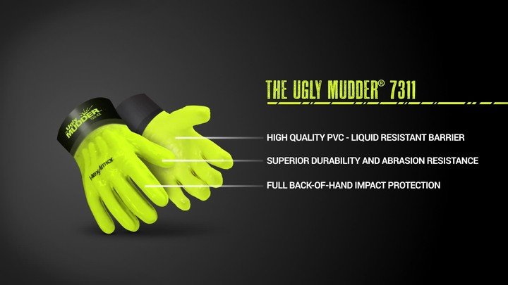 Chemical Impact Gloves | Ugly Mudder® 7311