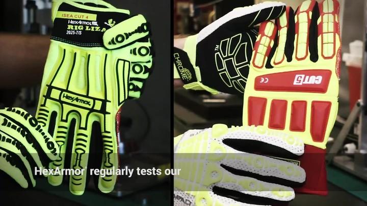 Impact Testing | Rig Lizard® 2025 vs. Ringers® Cut 5