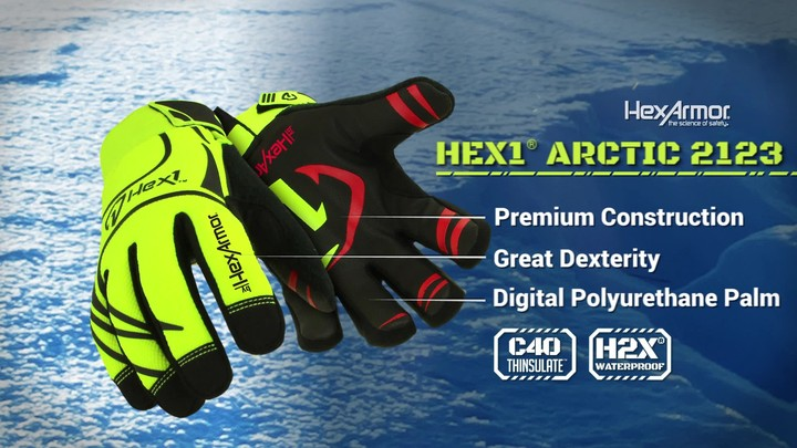 Cold Weather Gloves | Hex1® Arctic 2123