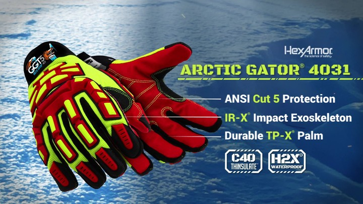 Cold Weather Work Gloves | GGT5® Arctic 4031