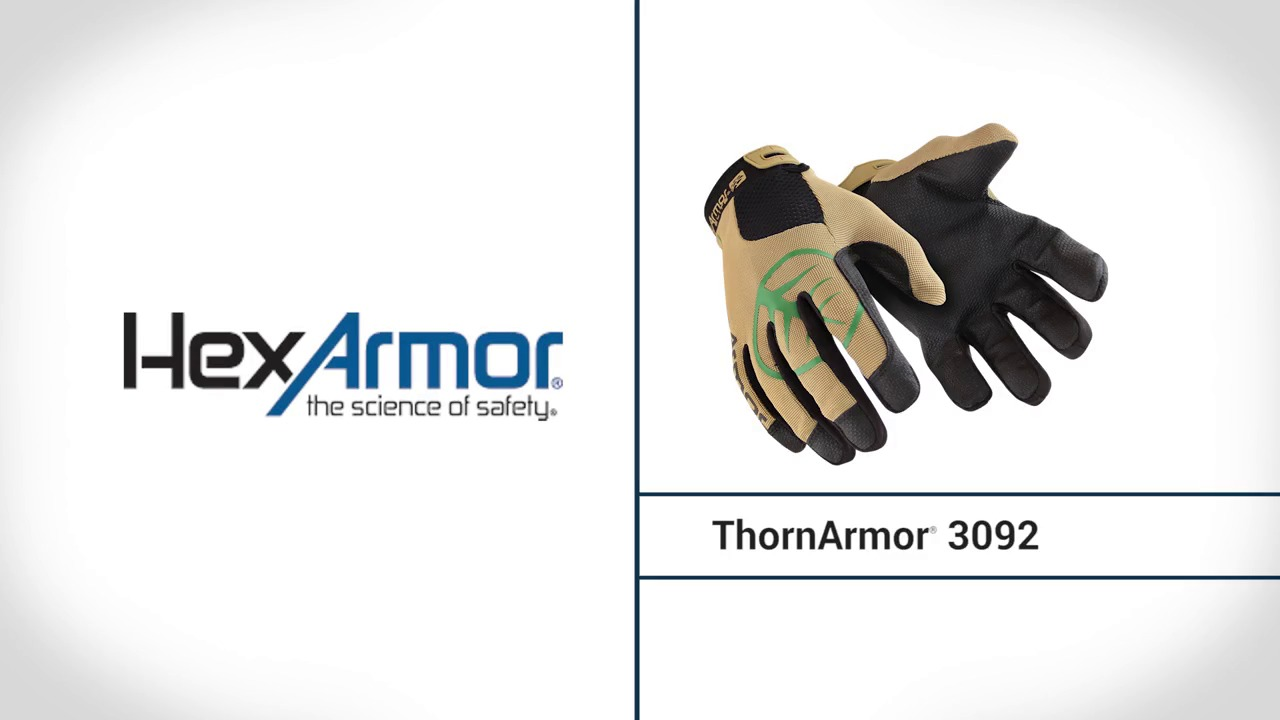 Thorn Resistant Gloves | ThornArmor® 3092