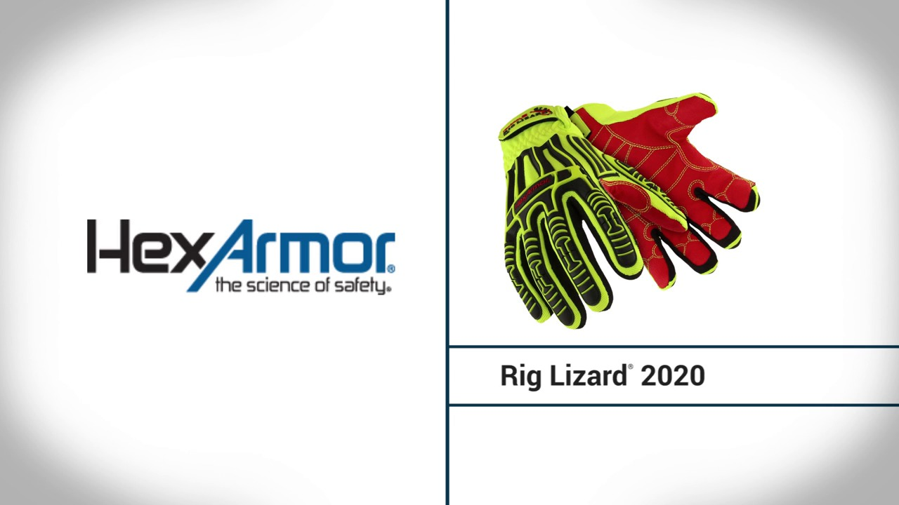 Impact Resistant Work Gloves | Rig Lizard® 2020