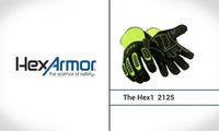 Leather Impact Gloves | Hex1® 2125