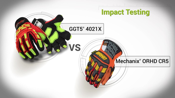 Impact Testing | GGT5® 4021X vs. Mechanix®