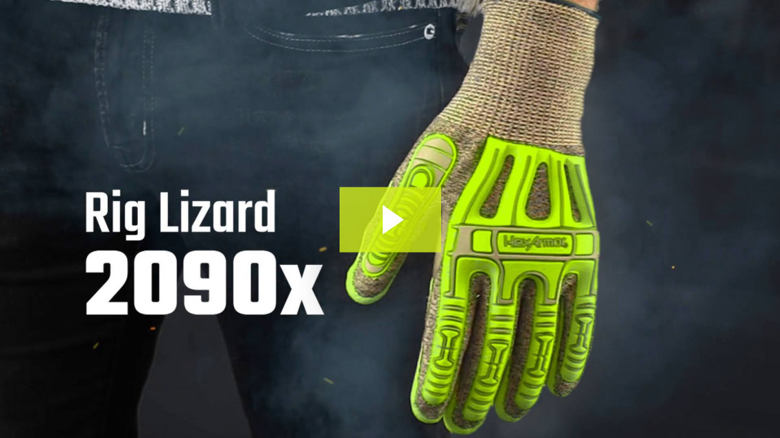 Rig Lizard® 2090x | Seamless Coated Impact Gloves