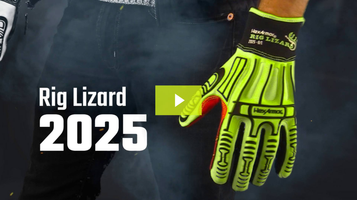 Rig Lizard® 2025 | Impact Resistant High Abrasion Gloves